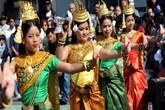 """Kỳ lạ Tết """"năm ngọn núi"""" của người Campuchia"""