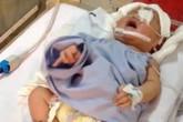 """Vụ bé 11 ngày tuổi bị đâm xuyên não: """"Nhiều người nghèo khó cũng dúi cho vài trăm ngàn"""""""