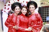 Ngọc Hân, Hồng Quế xinh tươi bê tráp cho Top 5 Hoa hậu Thu Hà