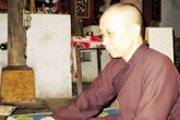 Những cựu TNXP quy y cửa Phật  cầu siêu cho đồng đội