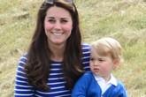 Hoàng tử bé nước Anh xuất hiện cực đáng yêu bên mẹ
