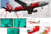 Hộp đen máy bay QZ8501 có thể đã rơi khỏi phần đuôi