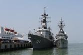 Hải quân Việt Nam - Nhật Bản huấn luyện chung trên biển