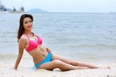 Thí sinh Hoa hậu Hoàn vũ 2015 Đỗ Mỹ Linh được cả trường kêu gọi bình chọn