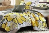 12 kiểu giường màu vàng tươi tắn cho mùa xuân
