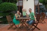 Cùng gia đình sẻ chia khoảnh khắc hạnh phúc