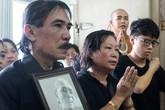 Gia đình nén đau thương nhìn mặt nhạc sĩ Phan Huỳnh Điểu lần cuối