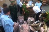 Gần 1 tấn ngà voi, sừng tê giác nhập lậu bị bắt tại Đà Nẵng