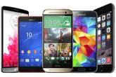 10 smartphone bán tốt nhất nửa cuối 2014