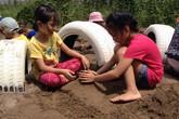 """Độc đáo khu vui chơi cho trẻ được """"hóa phép"""" từ phế liệu"""