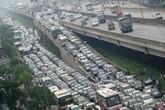 Công bố thời điểm hết tắc đường các tuyến cao điểm ở Hà Nội