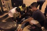 Vô tình gặp tai nạn trên đường, xe cấp cứu tức tốc dừng xe cứu nạn nhân