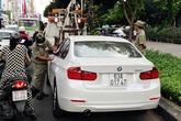 30 phút cố thủ của tài xế BMW tông xe cảnh sát