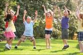 Trẻ em cần vận động ít nhất 60 phút mỗi ngày