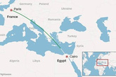 Xuất hiện video ghi thời khắc cuối cùng của máy bay Ai Cập?
