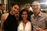 Vợ chồng Tăng Thanh Hà đi sự kiện chớp nhoáng