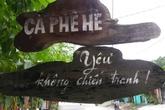"""Độc đáo quán cafe' """"Yêu"""" không chiến tranh ở Huế"""