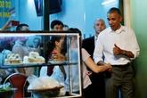 Các món ăn Việt ông Obama đã thưởng thức ở Hà Nội