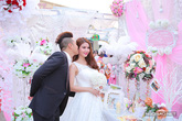 Khoảnh khắc vui nhộn trong đám cưới Kha Ly