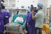 Mang tim, gan từ TP.HCM về Hà Nội ghép thành công cho 2 cán bộ cấp cao ngành công an