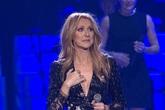 Celine Dion nhớ chồng khóc nấc trên sân khấu
