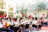 Tuyển sinh lớp 1 tại Hà Nội: Đủ chỗ, lại lo sĩ số