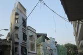 """Hà Nội: Lại xuất hiện nhà """"siêu mỏng, siêu méo"""" ở đường mới"""