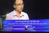 """MC Lại Văn Sâm và """"Ai là triệu phú"""" lại gây tranh cãi  vì câu hỏi về nhà Rông"""