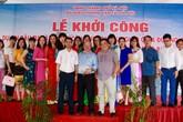 Hà Nội: Tập đoàn Quang Trung khởi công xây cầu vượt 161 tỉ