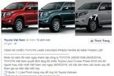 """Hàng vạn người """"sập bẫy"""" trúng ô tô tiền tỷ qua Facebook"""