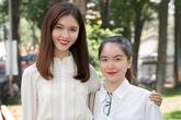 Á hậu Thùy Dung cao nổi trội so với chị gái