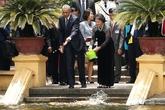Những hình ảnh thân thiện nhất của Tổng thống Obama ở Hà Nội
