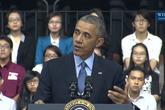 Ông Obama nhắc đến Trần Lập, Sơn Tùng-MTP
