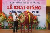 Hàng vạn học sinh quận Bắc Từ Liêm nô nức tựu trường đón năm học mới