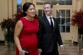 Vợ của ông chủ Facebook mang thai lần 2 vì sợ không thể có con được nữa