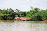 Vùng rốn lũ xứ Thanh ngập chìm trong biển nước