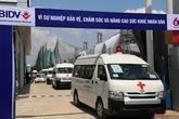BIDV bàn giao 46 xe cứu thương tặng bệnh viện tuyến Trung ương và các tỉnh  Tây Bắc, Tây Nguyên, Tây Nam Bộ, Trung Bộ