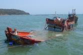Tin mới vụ chìm tàu chở than 13 người mất tích: Cứu được 3 người, 10 người đang được tìm kiếm