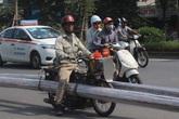 """""""Xe mọt"""" tung hoành khắp phố phường Thủ đô"""