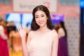 Hoa hậu Đỗ Mỹ Linh khoe sắc giữa trời đông Hà Nội