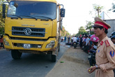 Quảng Nam: Xe tải va chạm với 2 xe máy,  3 người thương vong