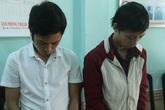 Hai nam thanh niên chuyên lừa đảo bằng 'chương trình trúng thưởng'
