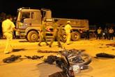 Va chạm kinh hoàng giữa xe tải và xe máy, nam thanh niên chết thảm