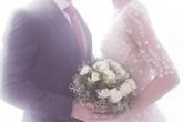 Kha Mỹ Vân rạng ngời hạnh phúc trong loạt ảnh cưới với chồng ngoại quốc