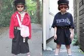 Cô bé 6 tuổi nổi tiếng khắp châu Á nhờ sở thích mặc không giống ai