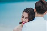 Ảnh cưới trên biển của MC Thành Trung