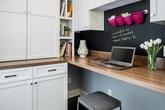 Đã thiết kế góc làm việc tại nhà thì đừng bỏ quên một chiếc bảng đen