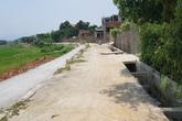 Quốc Oai, Hà Nội: Sự cố sụt lún đường đã được khắc phục