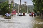 Thanh Hóa, Nghệ An, thiệt hại đang dâng theo nước lũ