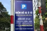 TP HCM thí điểm thu phí đỗ xe qua điện thoại